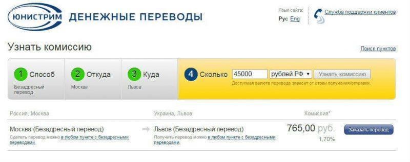 Как сделать перевод с украины на сбербанк 463