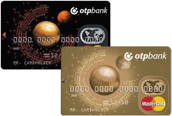отп банк официальный кредитные карты