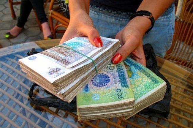 Фото 1. Узбекские сумы
