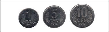 Фото 9. Монеты Узбекистана