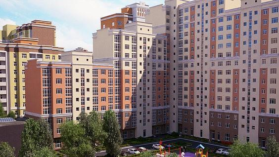 Рис. 3. Новый дом в Москве. Источник: сайт «Галерея недвижимости»