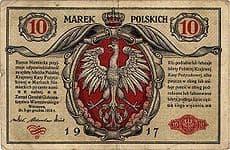Фото 4. Польская марка образца 1917 года
