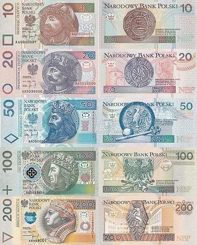Фото 8. Злотые в банкнотах