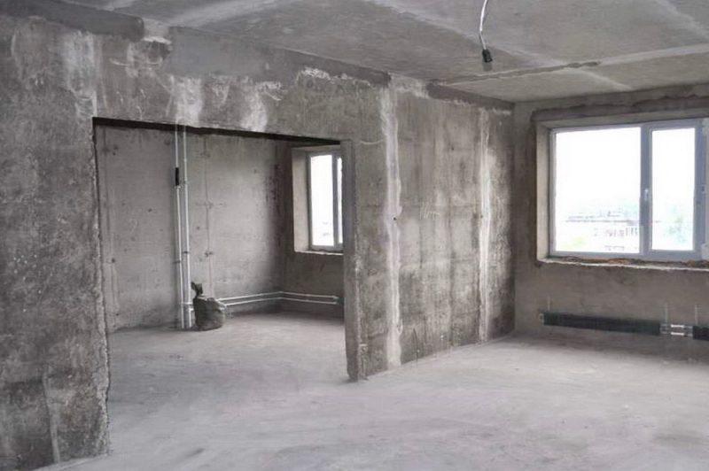 Рис.7. Квартира без отделки