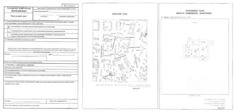 Рисунок 2. Технический план квартиры. Источник: сайт «Истрариел»