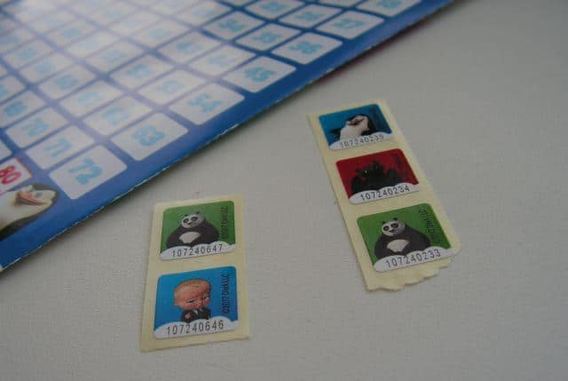 Рис. 6. Фишки с изображением мультипликационных героев