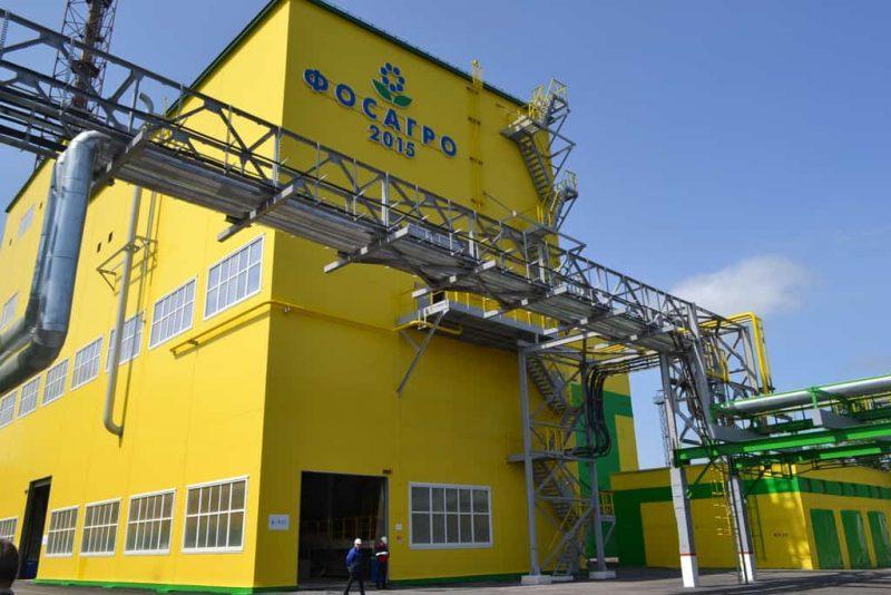 Рисунок 2. Завод «Фосагро» в Череповце