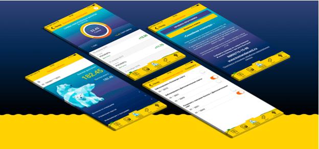 Рис. 4. Управление расходами через мобильное приложение «Роснефть АЗС»