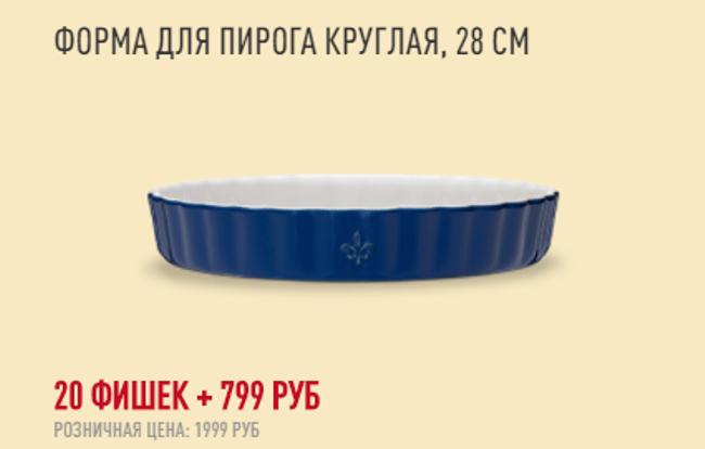 Рис. 6. Форма для пирога круглая Fontignac