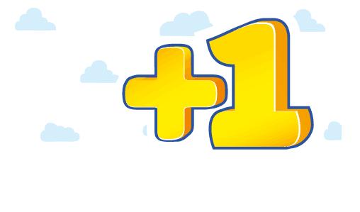 Рис. 1. Логотип клуба «+1»