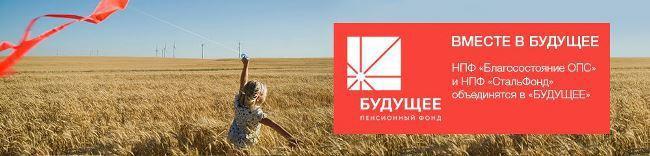 Рис. 1. Вместе в будущее – рекламный лозунг нового фонда