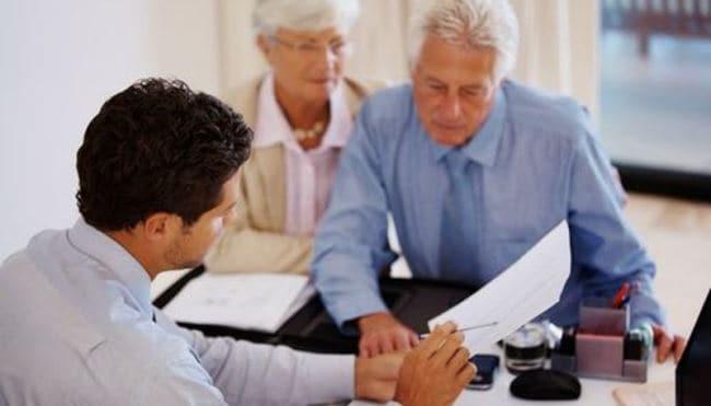 Рис. 3. Для пенсионеров проще заполнить заявку в отделении банка