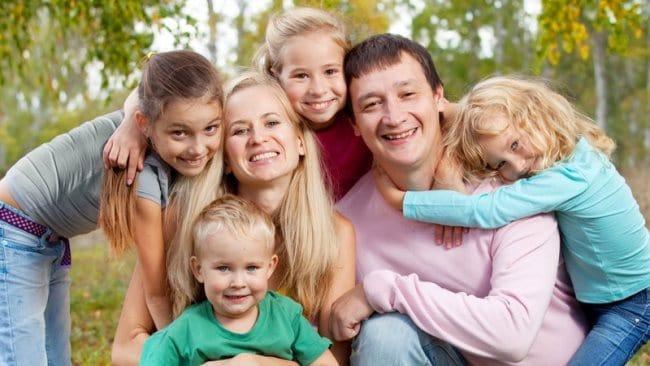 Московские льготы для многодетных семей