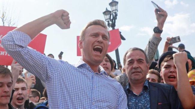 Рисунок 7. Алексей Навальный. Источник: Русская служба BBC