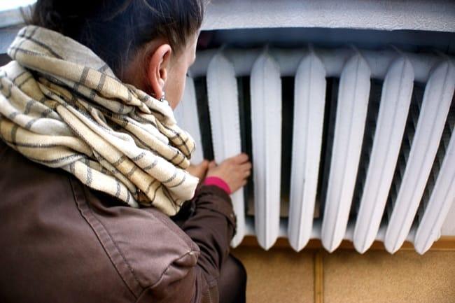 Образец акта об отключении отопления