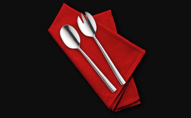 Рис. 6. Ложки для сервировки салата