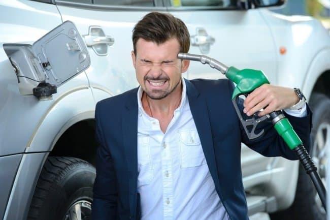 Рис. 2. Последствия бензинового коллапса