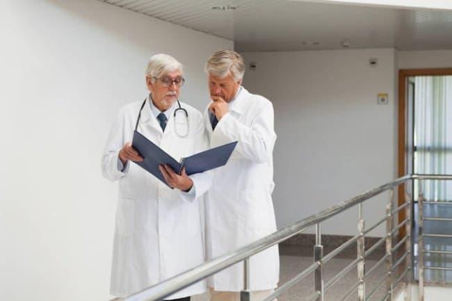 Рис. 2. Работающие врачи-пенсионеры