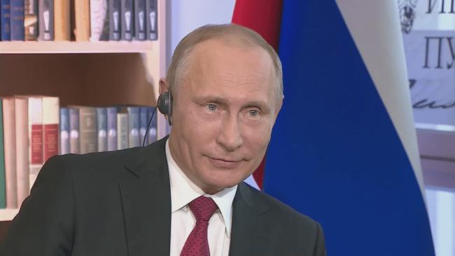 Рис. 4. Владимир Путин