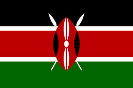 Рисунок 6. Флаг Кении.