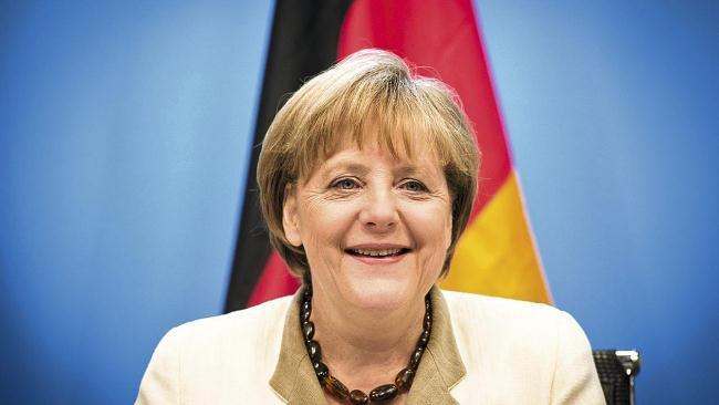 Рис. 9. Ангела Меркель