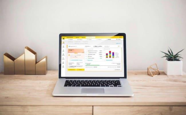 Рис.3. Управлять счетами легко через интернет-банкинг