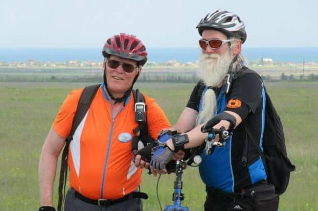 Фото 2. Германские пенсионеры – активные путешественники