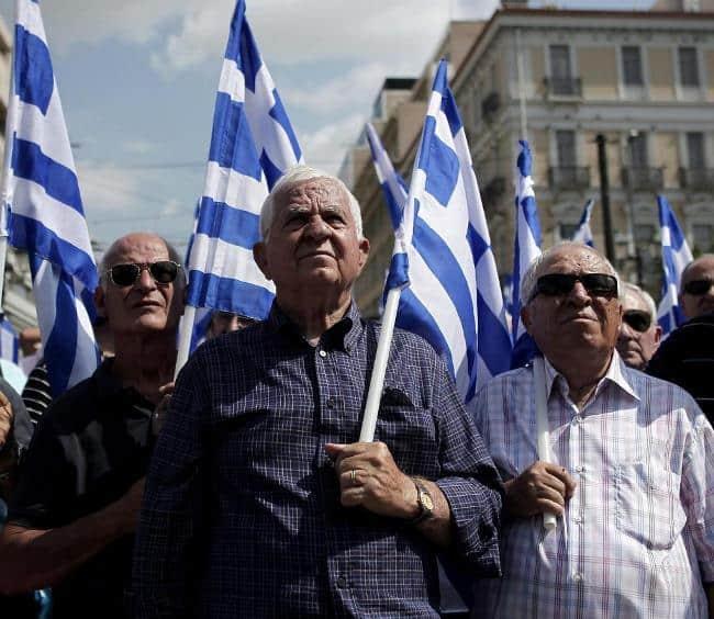 Когда в странах европы уходят на пенсию