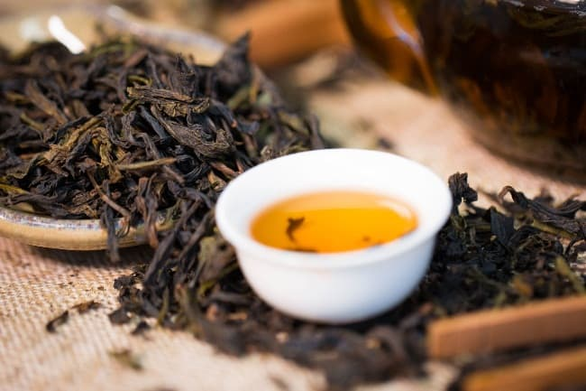 Рис. 11. Чай «Да Хун Пао»