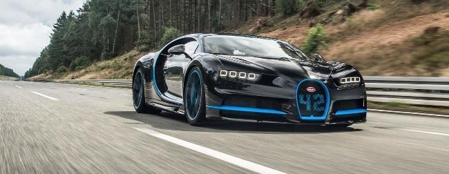 Рис. 2. Гиперкар Bugatti Chiron