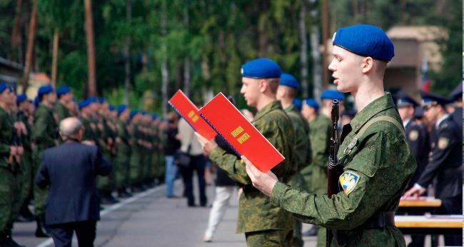 Рис.2. Срочники и курсанты также относятся к военнослужащим