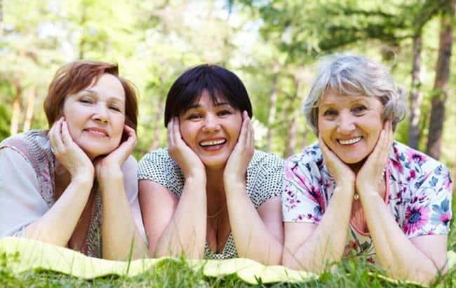 Рис. 2. Молодые пенсионерки – это реально