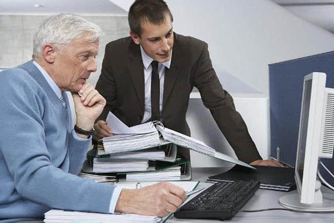 Рис. 3. Люди старшего поколения – незаменимые сотрудники с опытом