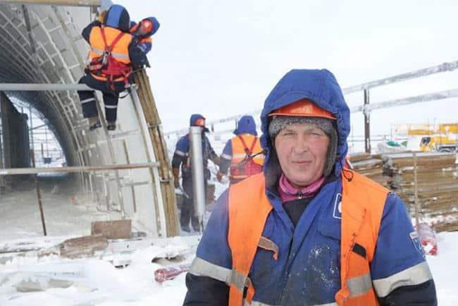 Рис. 6. Работа на крайнем Севере приравнивается к тяжелым и опасным условиям