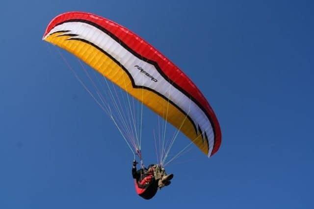 Рис. 3. парашют FIREBIRD