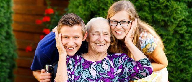 Рис. 3. Возраст – не помеха для воспитания внуков