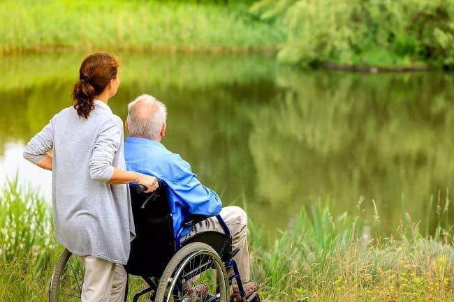 Рис. 6. Лучшая льгота для пожилого человека – это забота родного человека