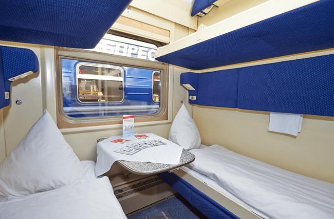 Рисунок 1. Вагон-купе фирменного поезда «Невский экспресс».