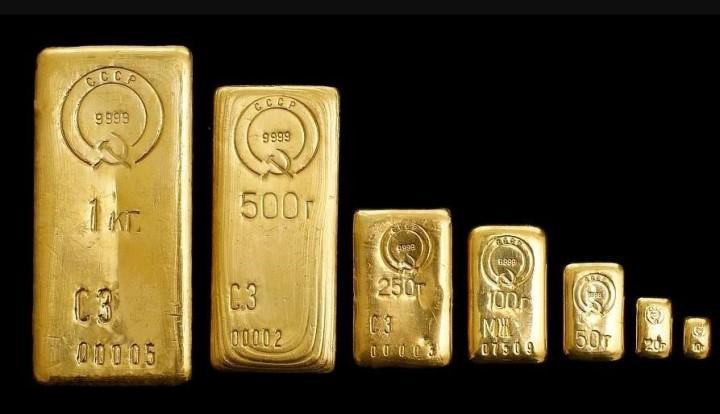 В Советском Союзе цена не была привязана к курсу металла