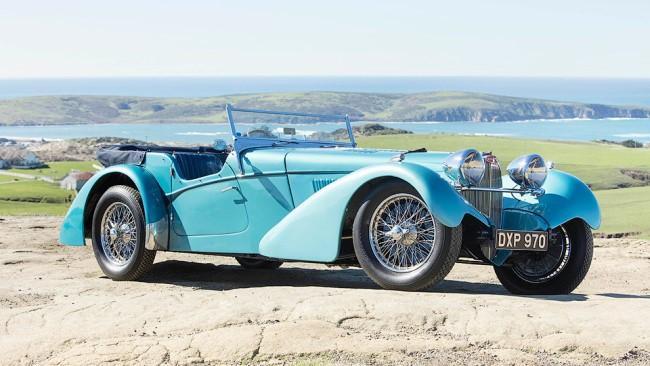 Рис. 3. Раритетный Bugatti 57SC Sports Tourer