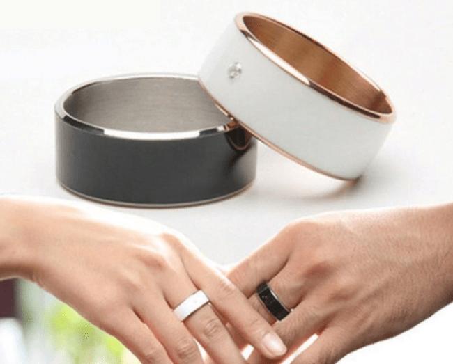 Рис.5. Перстень с NFC может служить украшением