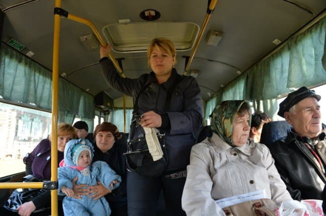 Рис. 2. Льготный проезд на общественном транспорте