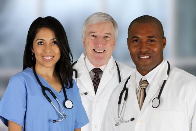 Рис. 2. Почасовая ставка врача в Америке зависит от штата