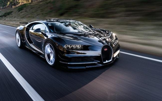 Рис. 4. Bugatti Chiron