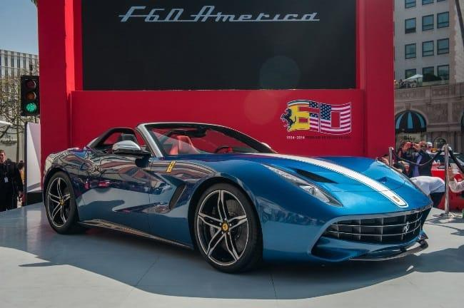 Рис. 5 Ferrari F60 America