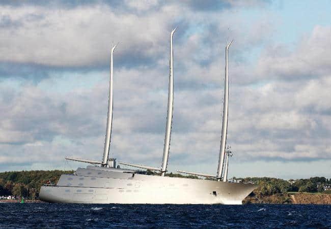 Рис. 7. Sailing Yacht A