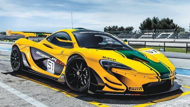 Рис. 9. McLaren P1 GTR