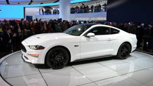 Рис.1 Mustang GT Токийский Автосалон 2018