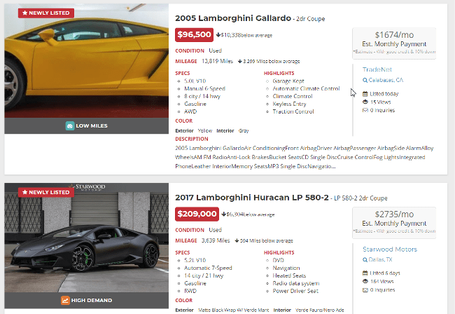 Рис.2 Скриншот зарубежного портала о продажах