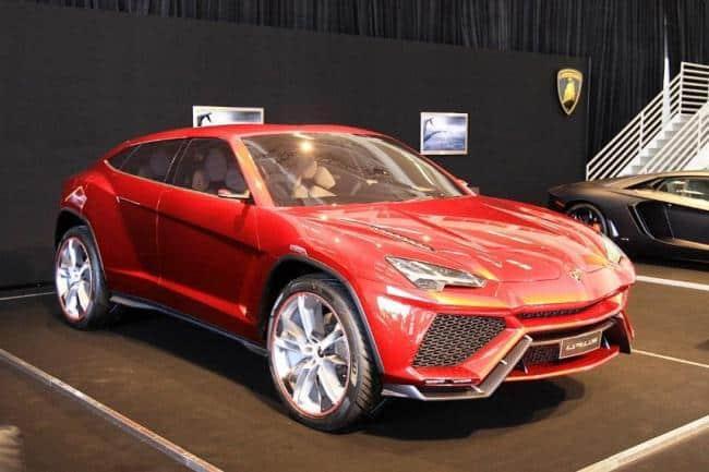 Рис.6 Внедорожник Lamborghini Urus 360